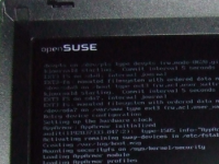 OpenSuSE boot screen